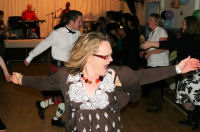 Caroline ceilidhs for charity