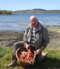 Prawn fisherman Hughie Macleod, Oban