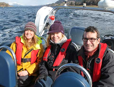 Boat tours on Loch Linnhe. Image courtesy www.appinboattours.co.uk