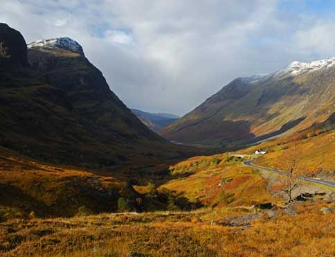 Glen Coe, just a short drive from The Pierhouse Hotel