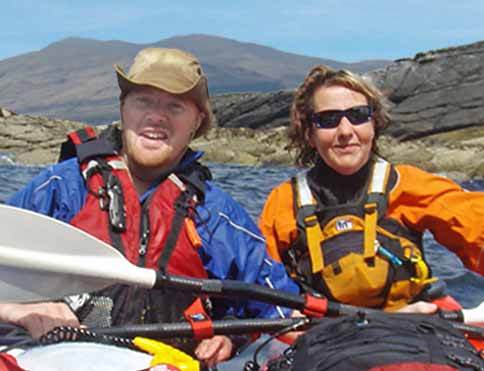 World class sea kayaking from The Pierhouse' own beach