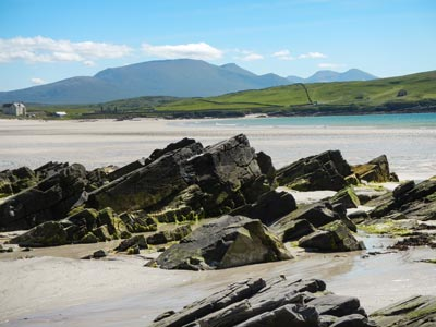 Beach near Durness on the NC500 road trip