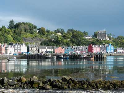Tobermory - or Balamory - on the Isle of Mull