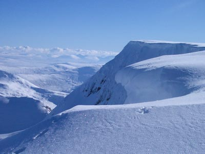 Great skiing and winter mountainerring lies close by