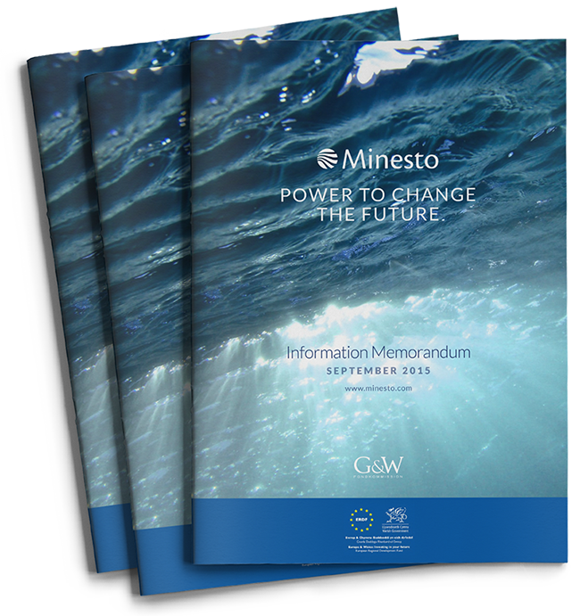 Minesto Investment Memorandum cover