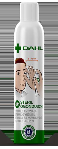 Dahl Medical Eyewash bottle front