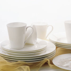 photo of cashmere  fine bone china dinnerware