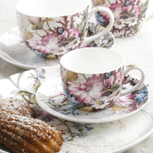 photo of maxwell&williams fine bone china designed tea sets