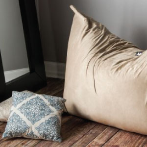 photo of home & living bean bag