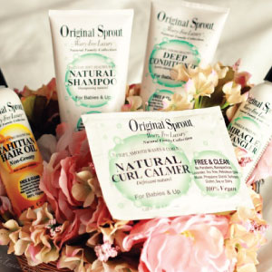 photo of original sprout natural & organic personal care for baby born, child and adults