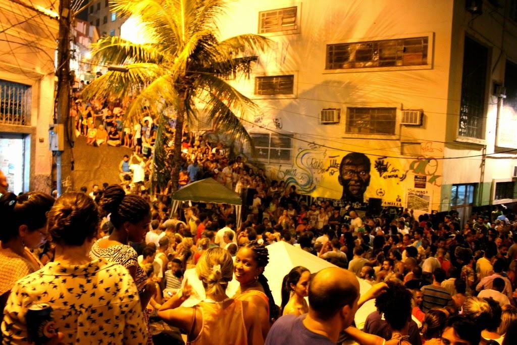Pedra do Sal, one of the historical samba spots in Rio de Janeiro