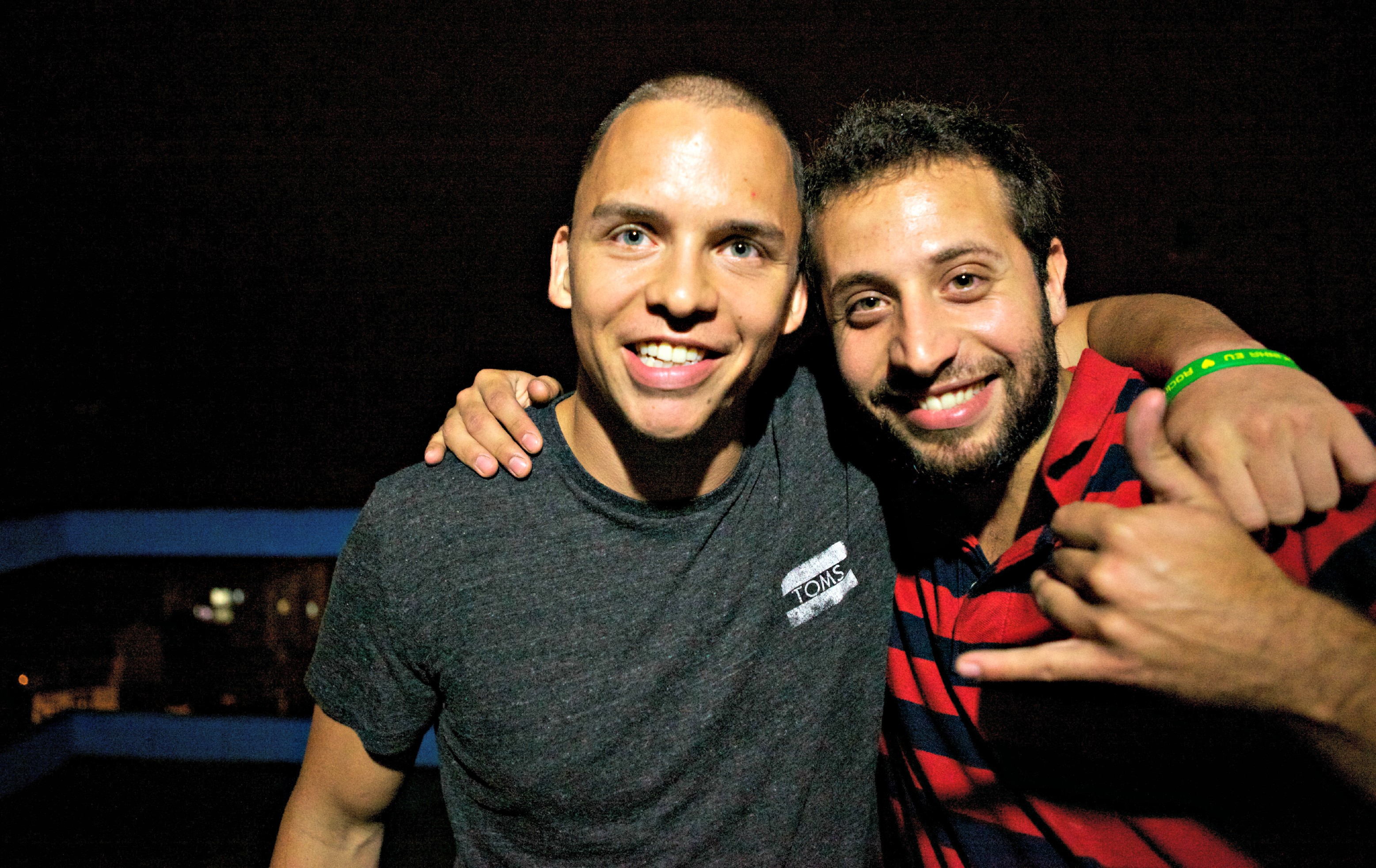 Adam Newman and Rodrigo Viera, the founders of FAVEX
