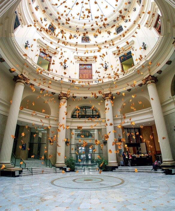 Rio de Janeiro Centro Cultural Banco do Brasil entrance hall