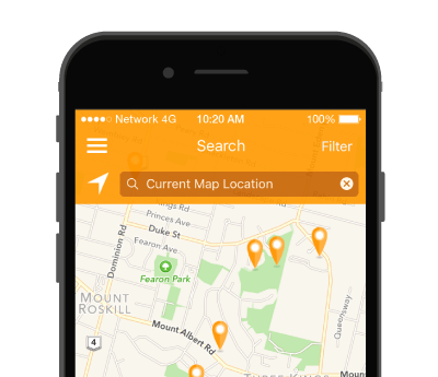 Preview of the QV Homeguide app