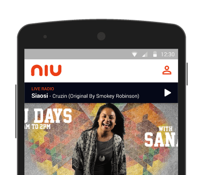 Preview of the Niu FM app