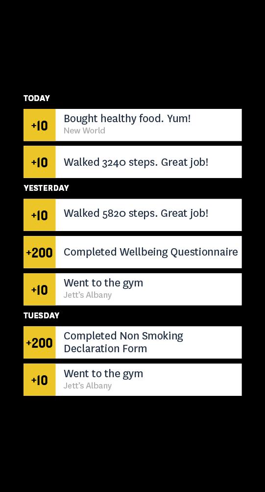 exercise tracker app