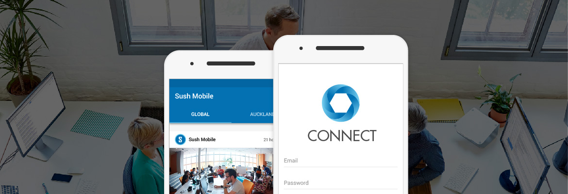 Sushmobile connect app