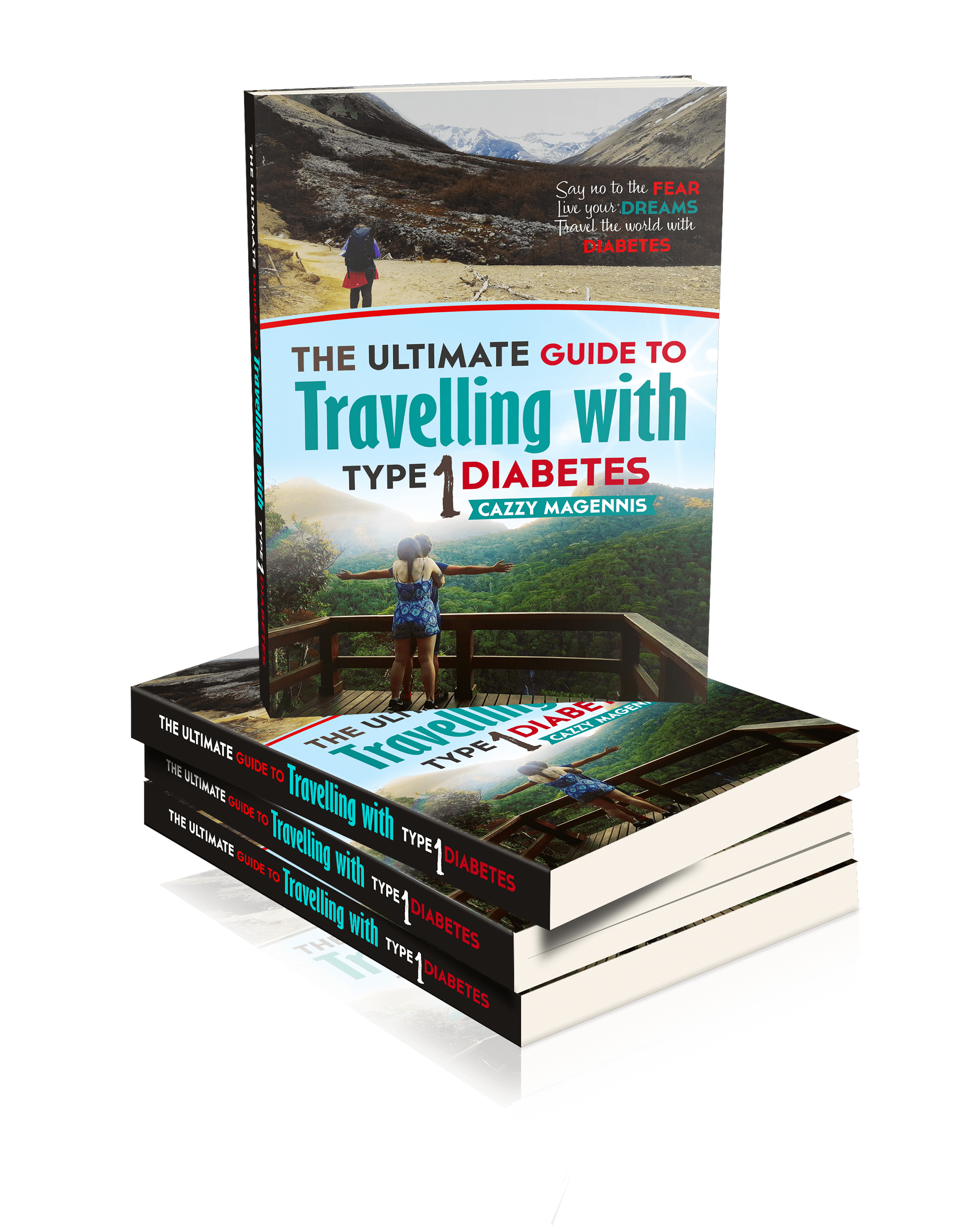 photo of our type 1 diabetic travel eBook