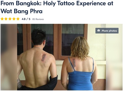 Getting a Sak Yant Tattoo In Bangkok [And How You Can Get One Too!]
