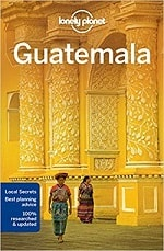 lonely planet guatemala guide book