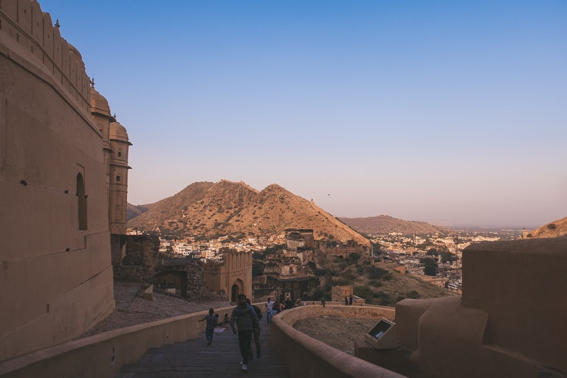 amer view fort in jaipur