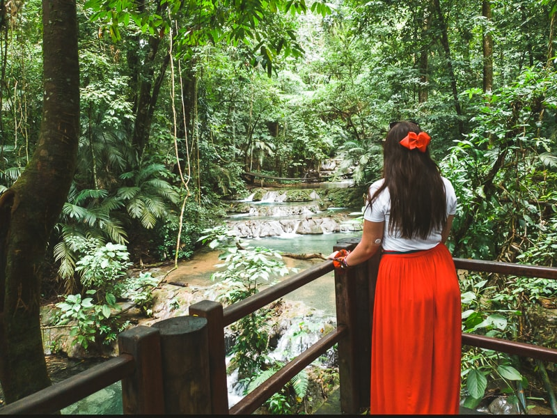 waterfalls at palenque