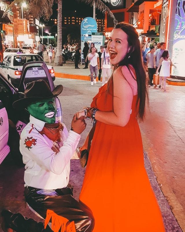 fun at coco bongo cancun