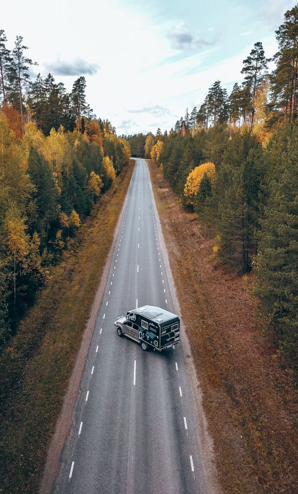 Van in Estonia
