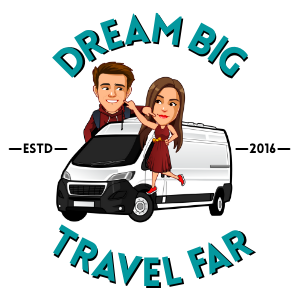 Dream Big, Travel Far logo
