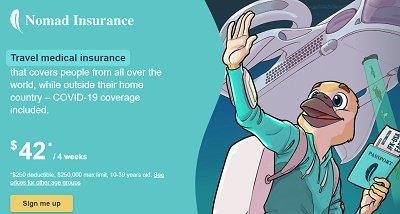 Travel insurance tip
