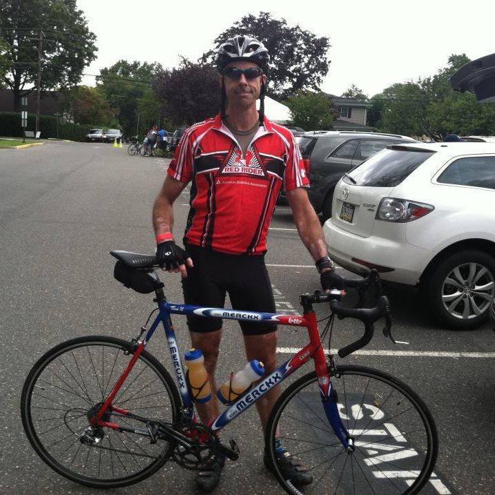David Endy, cycling type 1 diabetic
