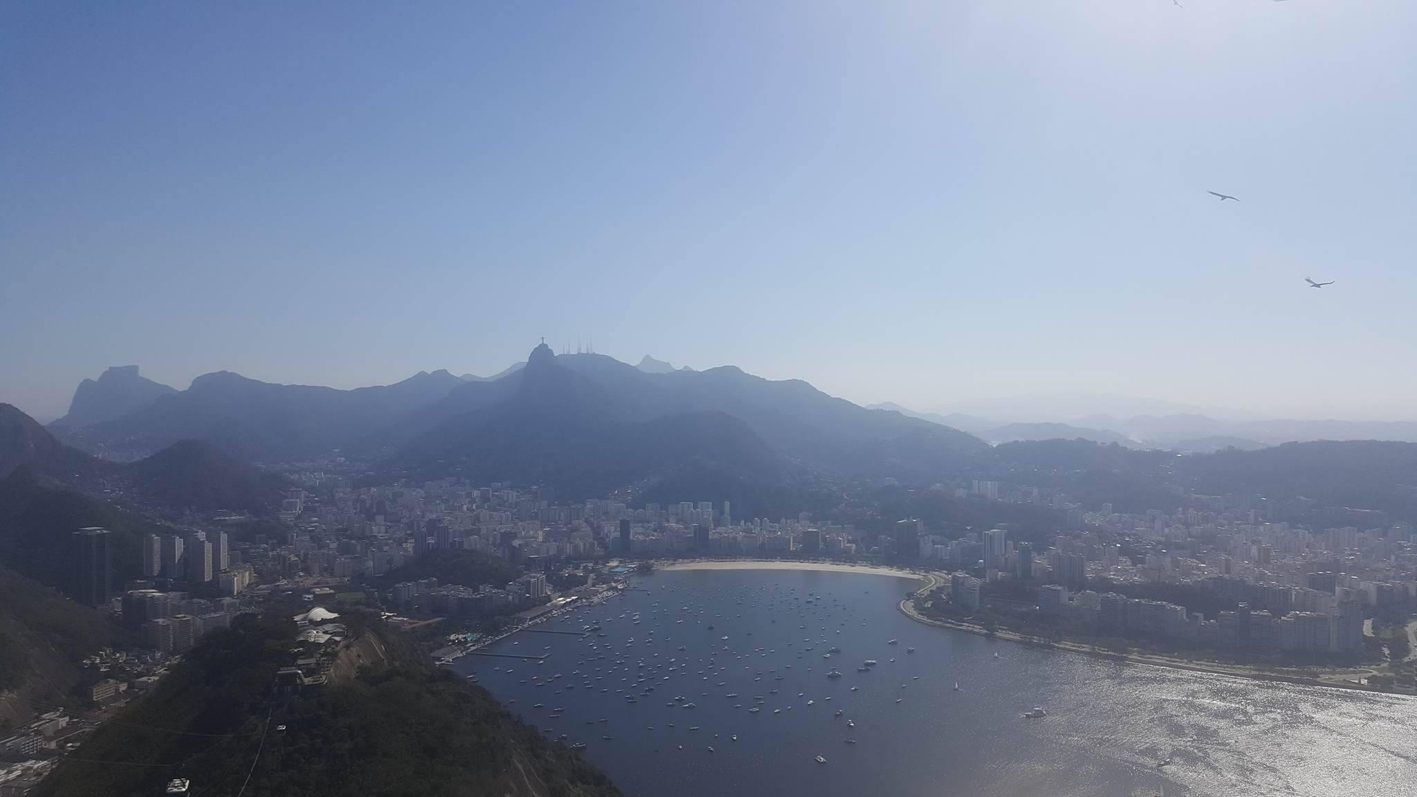 View from Sugar Loaf Mountain Rio de Janeiro