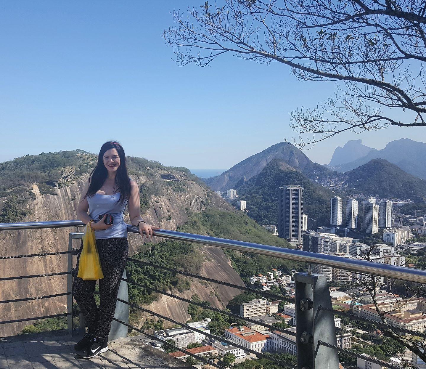 Cazzy in Rio de Janeiro