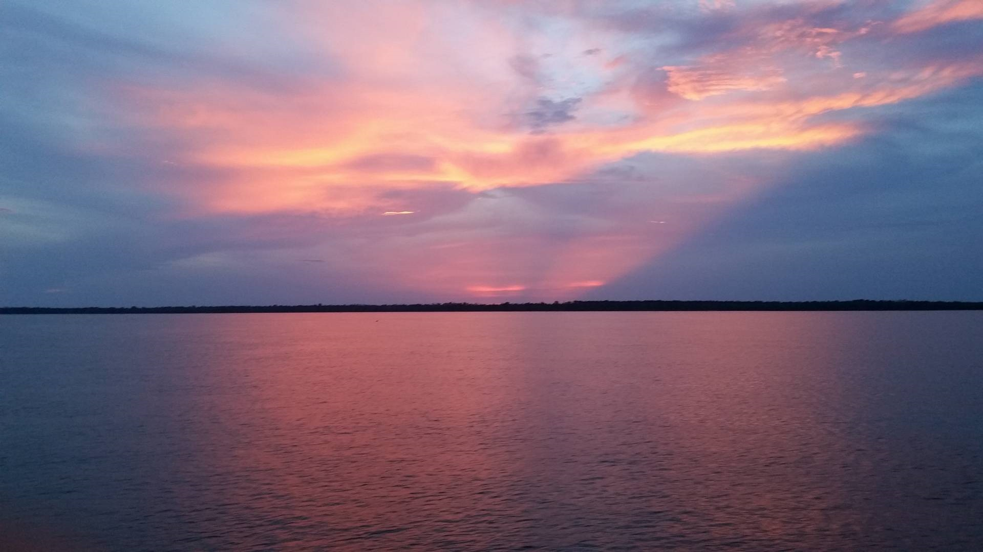 View from Belem to Manaus