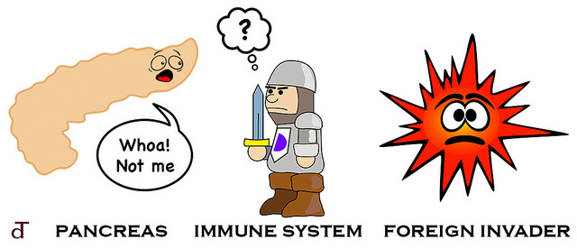what is diabetes cartoon