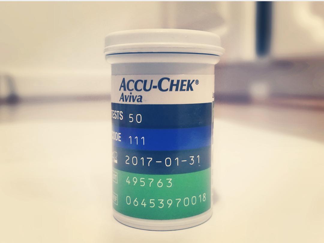 diabetes test strips