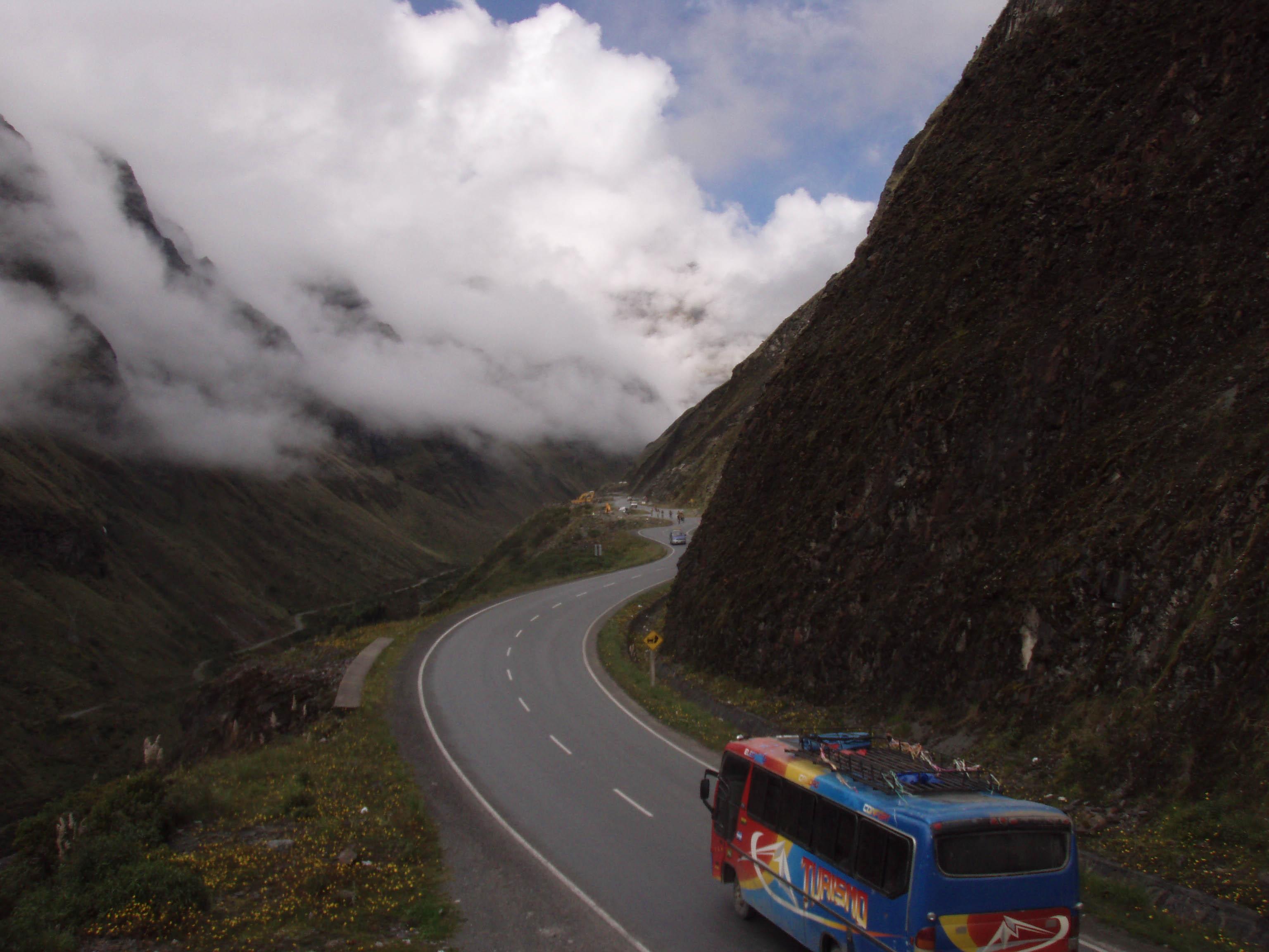 Travelling in Potosi in Bolivia