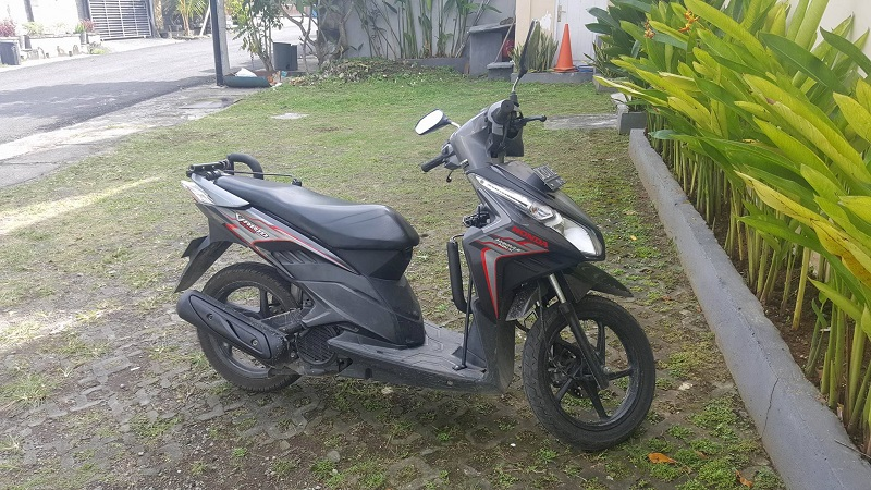 moped hire in bali