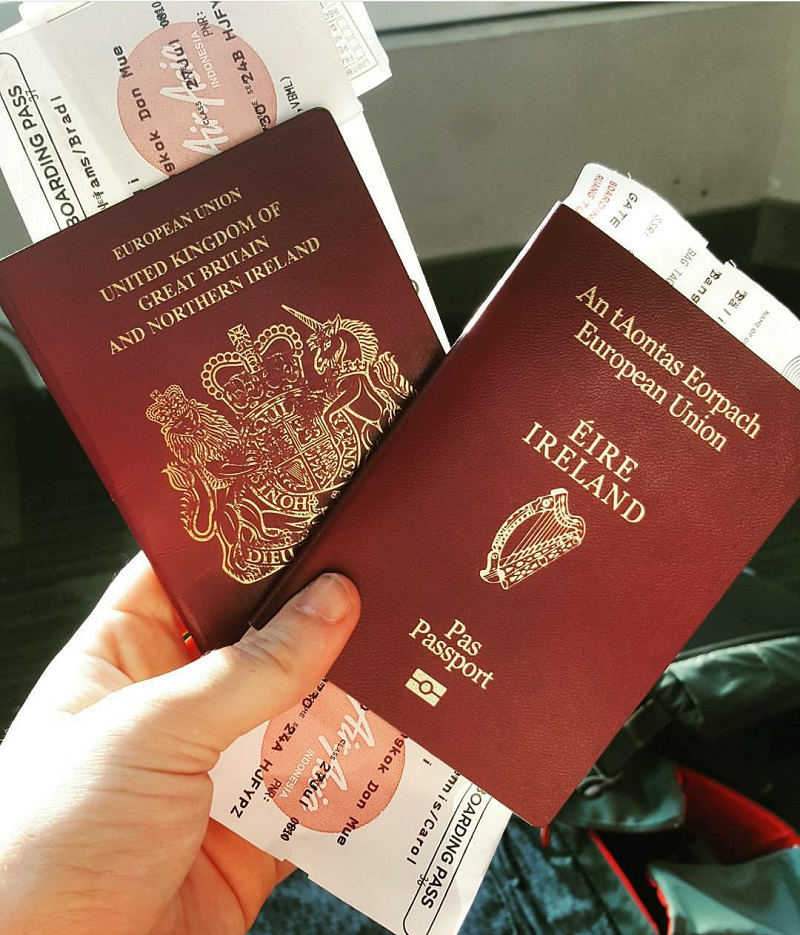 passports for airport security