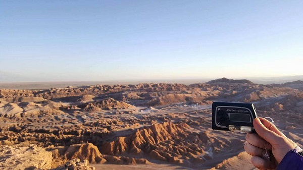 Insulin pump in desert