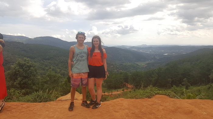 Up in the mountains of Dalat