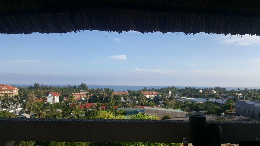 View of Mui Ne from hotel