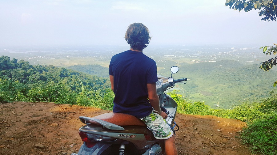 Mopeds in pai