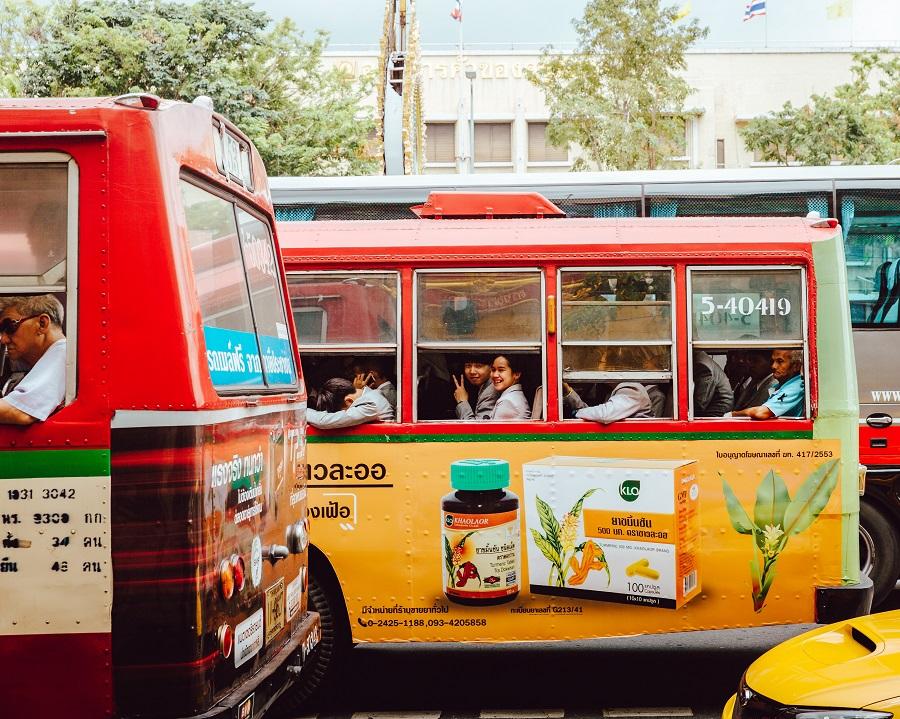 bus travel in Pai