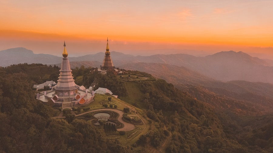 Doi Suthep–Pui National Park in Chiang mai