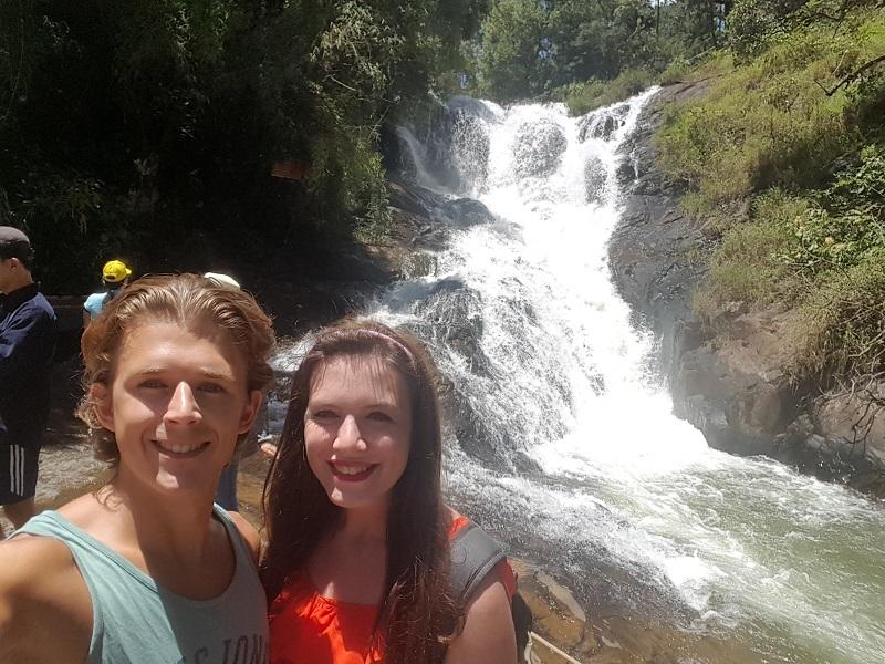 Selfie at Datanla Falls