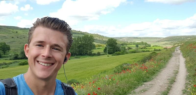 Camino selfie