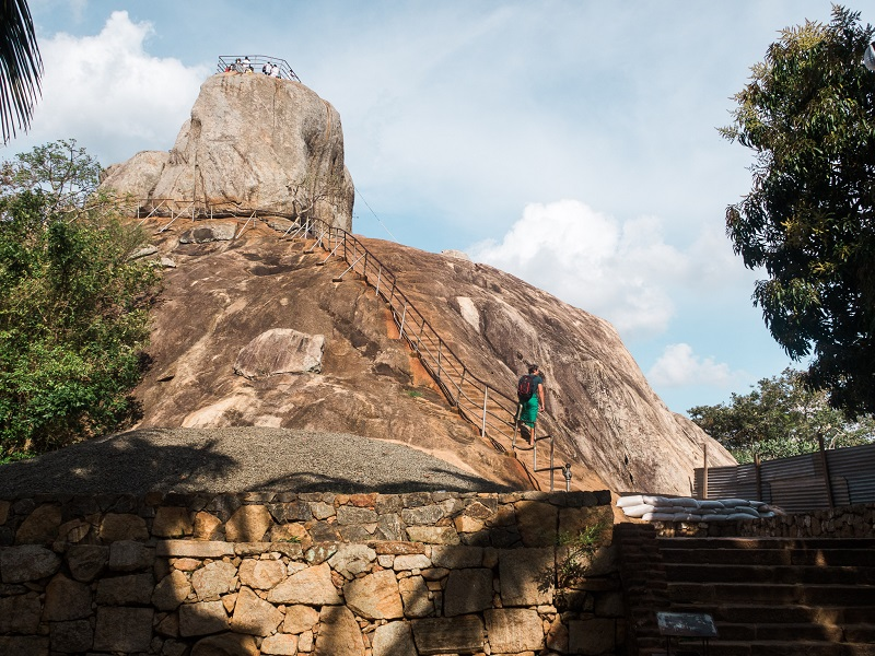 Mihintale Rock in Anuradhapura