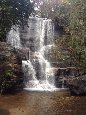 lovers leap waterfall