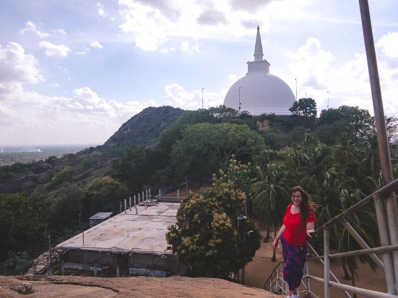 Stupa at Mihintale